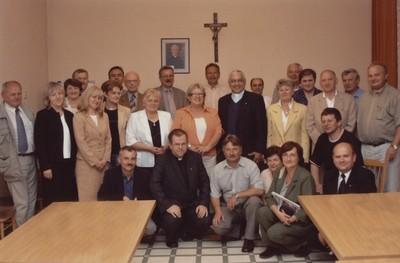 Spotkanie z przełożonym Księży Sercanów